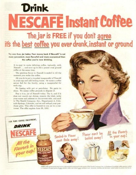 1960 s60 3 - NIFTY 50's Coffee ads
